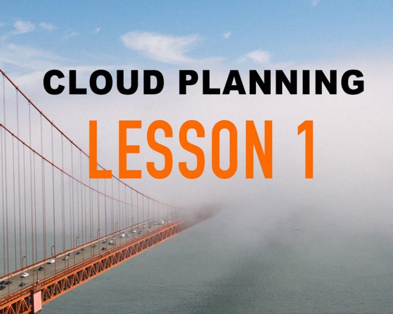 Cloud Planning Lessons Learned Part 1