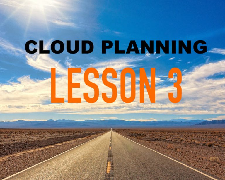 Cloud Planning Lessons Learned Part 3